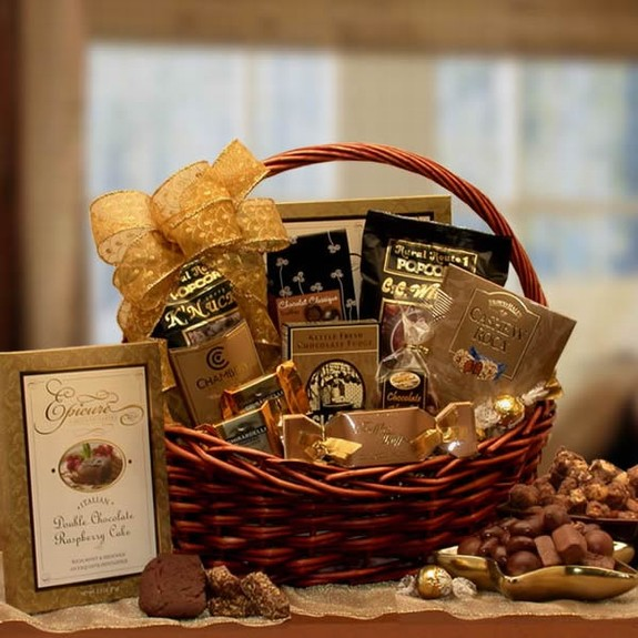 gift basket & Great Gift Ideas for Chocolate Lovers | Baking With Basil